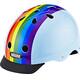 Nutcase Street Kask rowerowy niebieski/kolorowy